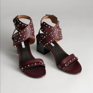 & Other Stories Studded Sandals